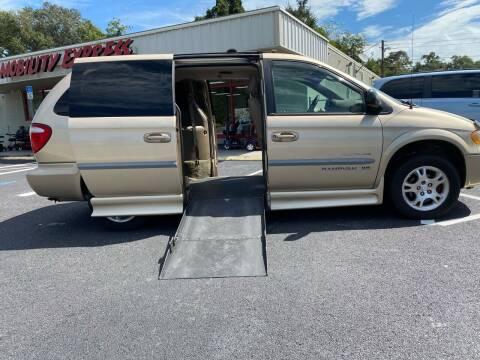2001 Dodge Grand Caravan for sale at The Mobility Van Store in Lakeland FL