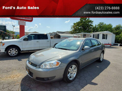 2007 Chevrolet Impala for sale at Ford's Auto Sales in Kingsport TN