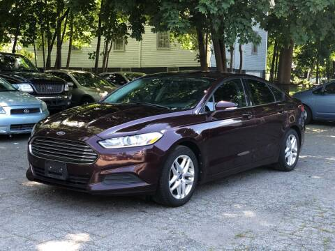 2013 Ford Fusion for sale at Emory Street Auto Sales and Service in Attleboro MA