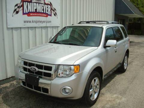 2012 Ford Escape for sale at Team Knipmeyer in Beardstown IL
