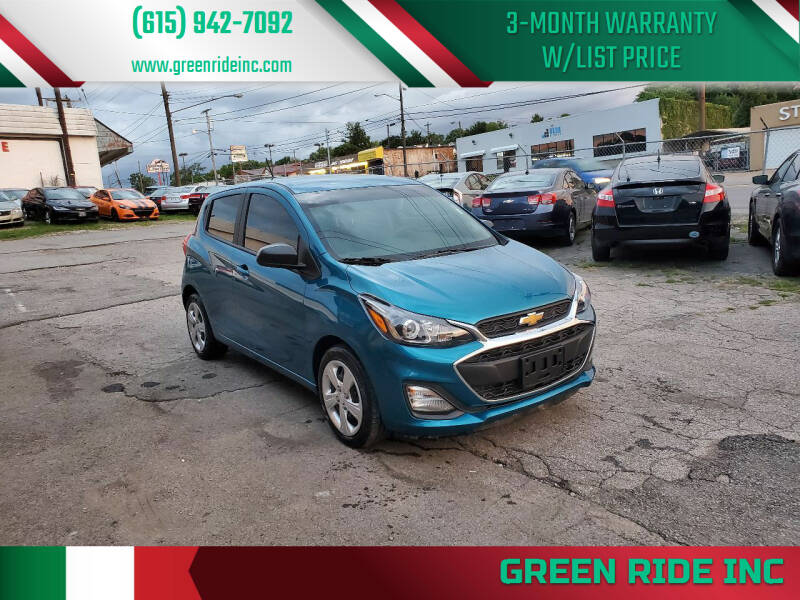 2020 Chevrolet Spark for sale at Green Ride Inc in Nashville TN