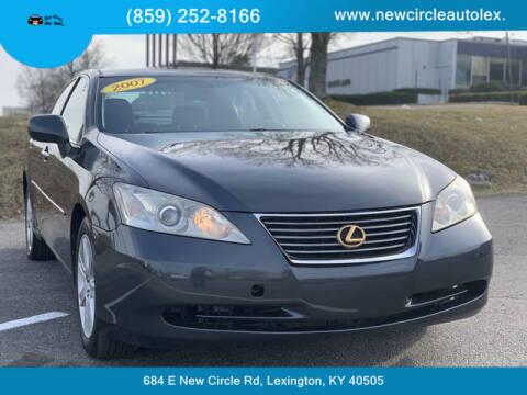 2007 Lexus ES 350 for sale at New Circle Auto Sales LLC in Lexington KY