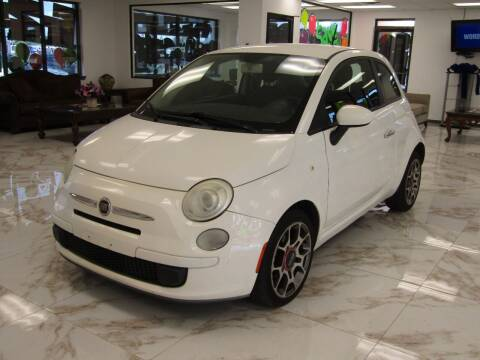 2012 FIAT 500 for sale at Dealer One Auto Credit in Oklahoma City OK