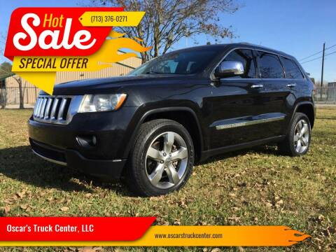 2011 Jeep Grand Cherokee for sale at Oscar's Truck Center, LLC in Houston TX
