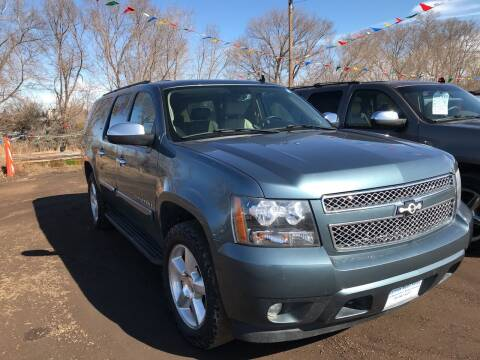 2008 Chevrolet Suburban for sale at BARNES AUTO SALES in Mandan ND
