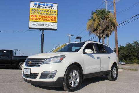 2013 Chevrolet Traverse for sale at Flash Auto Sales in Garland TX