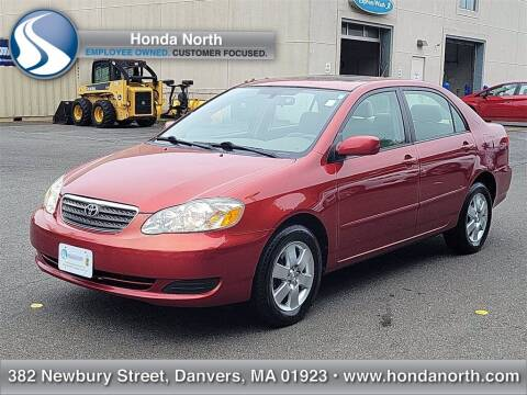 2005 Toyota Corolla for sale at 1 North Preowned in Danvers MA