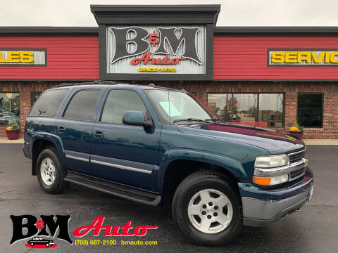 2004 Chevrolet Tahoe for sale at B & M Auto Sales Inc. in Oak Forest IL