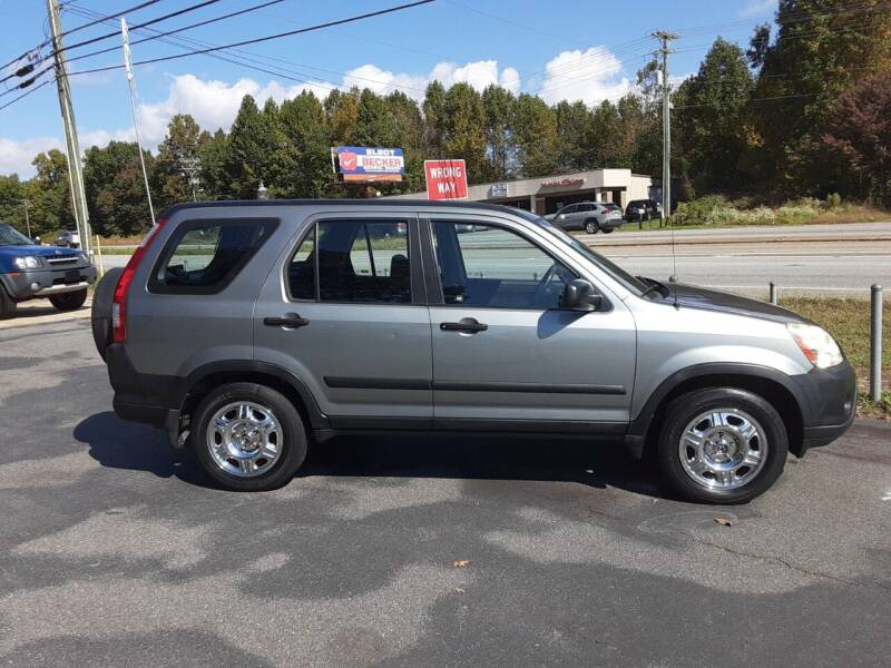2005 Honda CR-V for sale at Catawba Valley Motors in Hickory NC