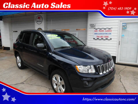 2012 Jeep Compass for sale at Classic Auto Sales in Maiden NC