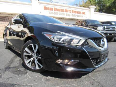 2016 Nissan Maxima for sale at North Georgia Auto Brokers in Snellville GA