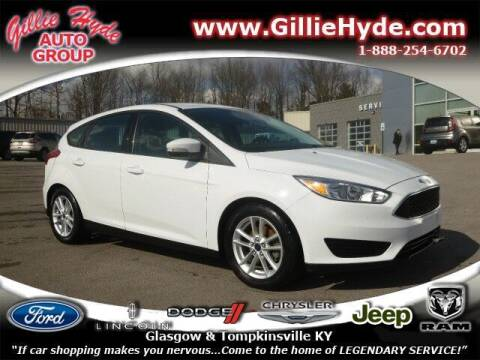 2015 Ford Focus for sale at Gillie Hyde Auto Group in Glasgow KY