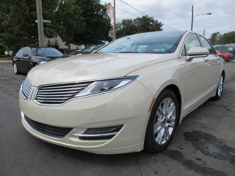 2014 Lincoln MKZ Hybrid for sale at PRESTIGE IMPORT AUTO SALES in Morrisville PA