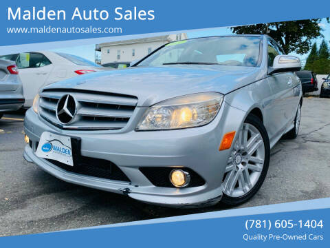 2009 Mercedes-Benz C-Class for sale at Malden Auto Sales in Malden MA