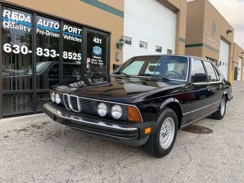 1984 BMW 7 Series for sale at REDA AUTO PORT INC in Villa Park IL