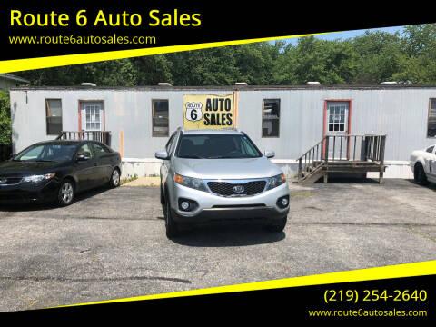 2013 Kia Sorento for sale at Route 6 Auto Sales in Portage IN