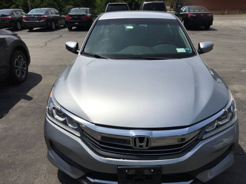 2016 Honda Accord for sale at Karlins Auto Sales LLC in Saratoga Springs NY