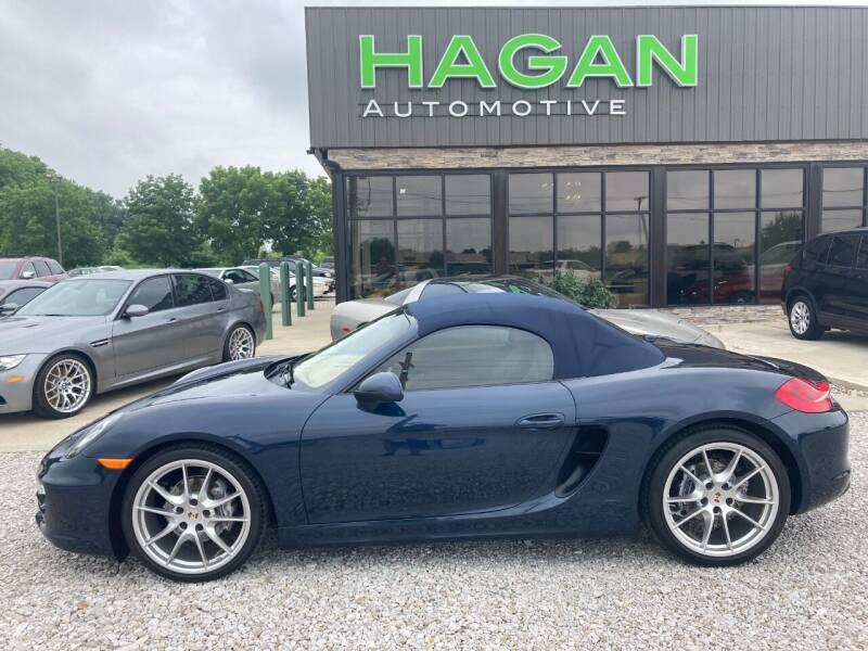 2013 Porsche Boxster for sale at Hagan Automotive in Chatham IL