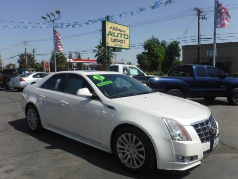 2012 Cadillac CTS for sale at HILMAR AUTO DEPOT INC. in Hilmar CA