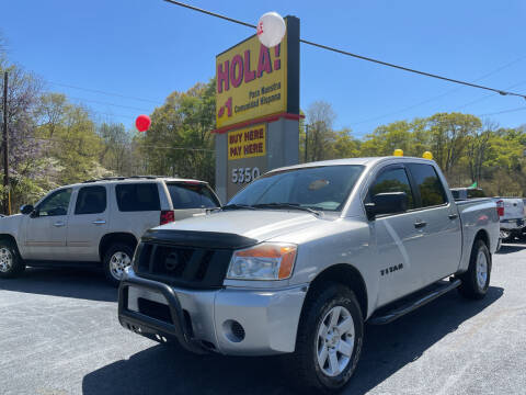 2009 Nissan Titan for sale at No Full Coverage Auto Sales in Austell GA