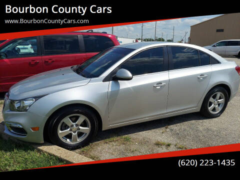 2016 Chevrolet Cruze Limited for sale at Bourbon County Cars in Fort Scott KS