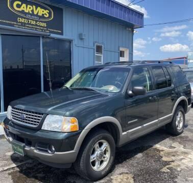 2002 Ford Explorer for sale at CAR VIPS ORLANDO LLC in Orlando FL
