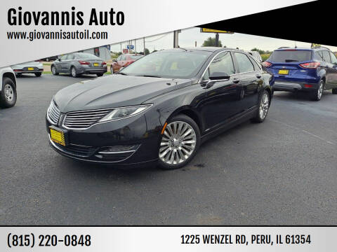 2013 Lincoln MKZ for sale at Giovannis Auto in Peru IL