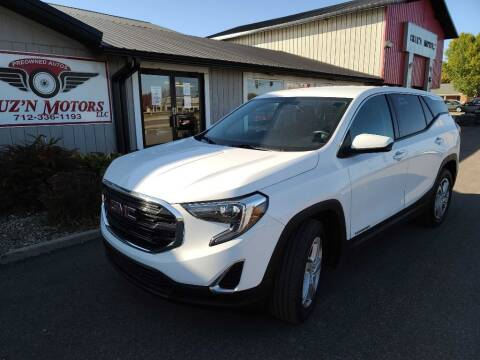 2018 GMC Terrain for sale at CRUZ'N MOTORS in Spirit Lake IA