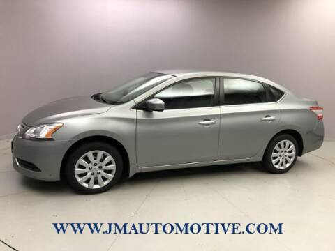 2014 Nissan Sentra for sale at J & M Automotive in Naugatuck CT