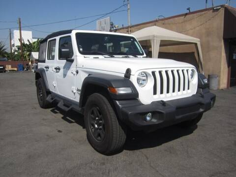 2018 Jeep Wrangler Unlimited for sale at Win Motors Inc. in Los Angeles CA