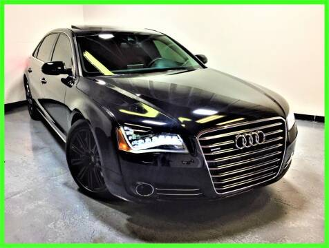 2013 Audi A8 L for sale at AMG Auto Sales in Rancho Cordova CA