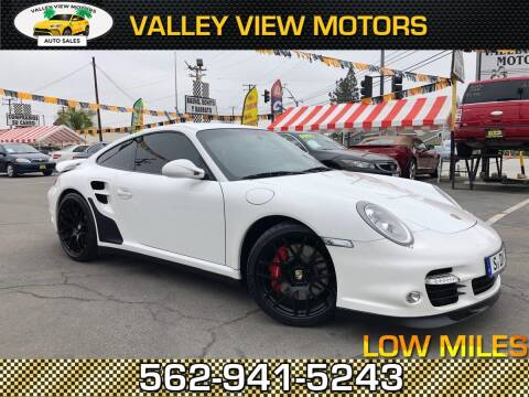 2010 Porsche 911 for sale at Valley View Motors in Whittier CA