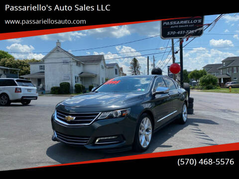2014 Chevrolet Impala for sale at Passariello's Auto Sales LLC in Old Forge PA
