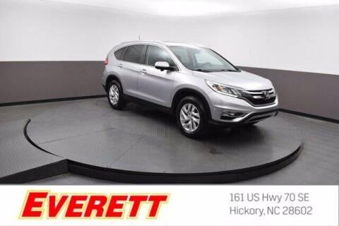 2015 Honda CR-V for sale at Everett Chevrolet Buick GMC in Hickory NC