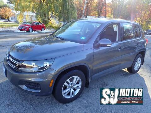 2014 Volkswagen Tiguan for sale at S & J Motor Co Inc. in Merrimack NH
