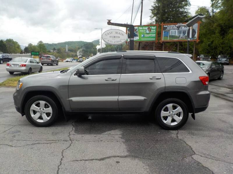 2012 Jeep Grand Cherokee for sale at EAST MAIN AUTO SALES in Sylva NC