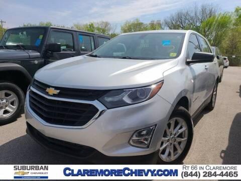 2018 Chevrolet Equinox for sale at Suburban Chevrolet in Claremore OK