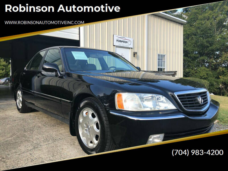 2000 Acura RL for sale at Robinson Automotive in Albemarle NC