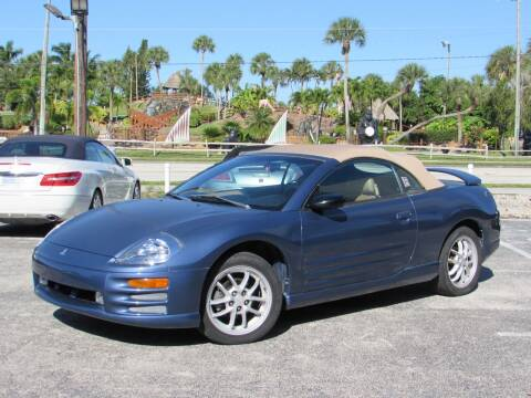 2002 Mitsubishi Eclipse Spyder for sale at Auto Quest USA INC in Fort Myers Beach FL