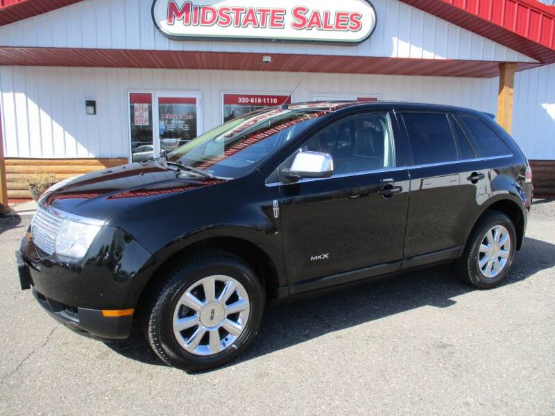 2008 Lincoln MKX for sale at Midstate Sales in Foley MN