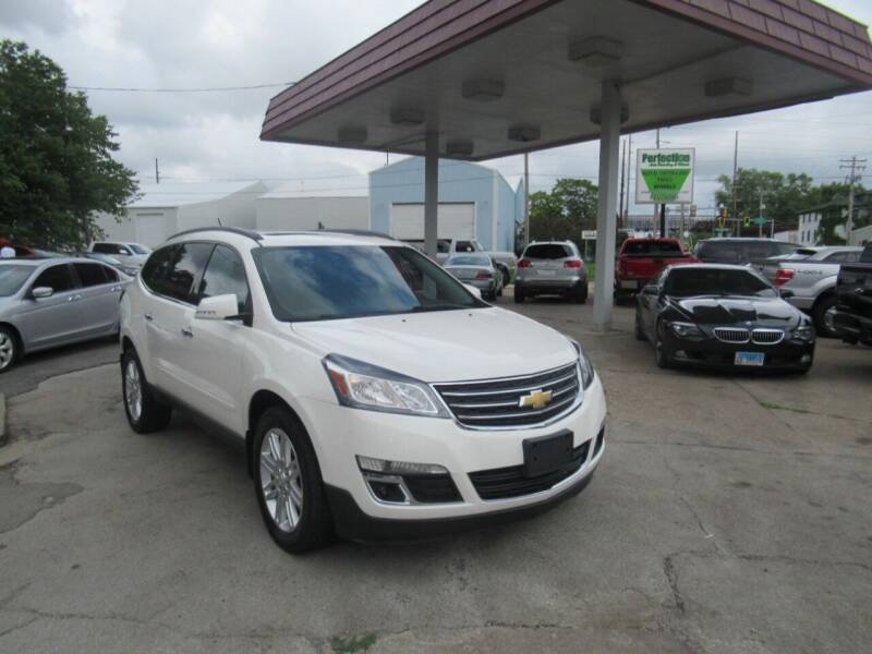 2014 Chevrolet Traverse for sale at Perfection Auto Detailing & Wheels in Bloomington IL