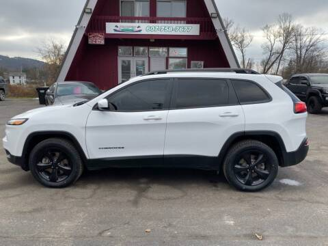 2018 Jeep Cherokee for sale at Pop's Automotive in Homer NY