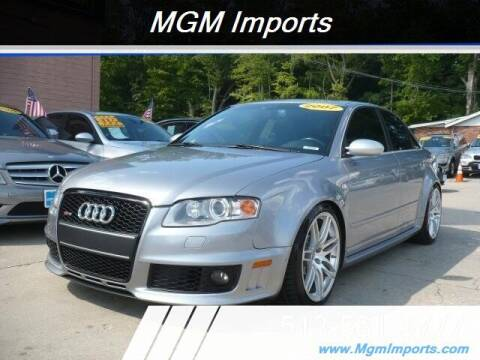 2007 Audi RS 4 for sale at MGM Imports in Cincannati OH