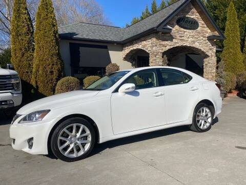 2011 Lexus IS 350 for sale at Hoyle Auto Sales in Taylorsville NC