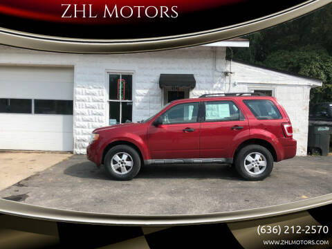 2009 Ford Escape for sale at ZHL Motors in House Springs MO