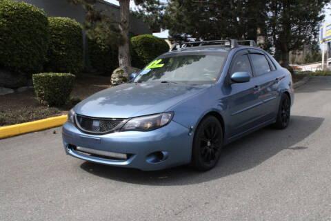 2009 Subaru Impreza for sale at SS MOTORS LLC in Edmonds WA