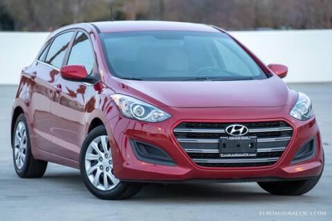 2016 Hyundai Elantra GT for sale at Euro Auto Sales in Santa Clara CA