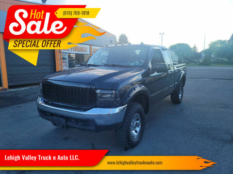 2004 Ford F-250 Super Duty for sale at Lehigh Valley Truck n Auto LLC. in Schnecksville PA