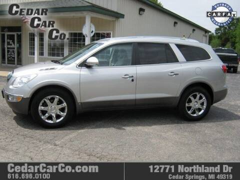 2008 Buick Enclave for sale at Cedar Car Co in Cedar Springs MI