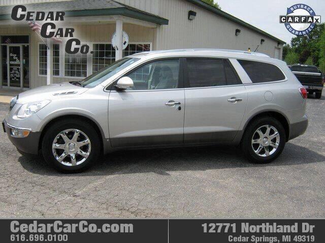 2008 Buick Enclave for sale at Cedar Car Co in Cedar Springs MI